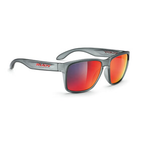 Rudy Project Spinhawk Glasses Frozen Ash/Multilaser Red